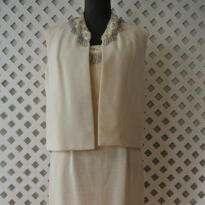 VTG Dress Jacket Sz 8 Wedding Bridal Prom LOT Of 2